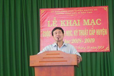 Trường THCS TT Đắk Mâm tham gia cuộc thi KHKT cấp huyện
