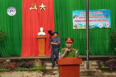 Ngoại khóa – tuyên truyền pháp luật cho học sinh trường THCS TT Đắk Mâm
