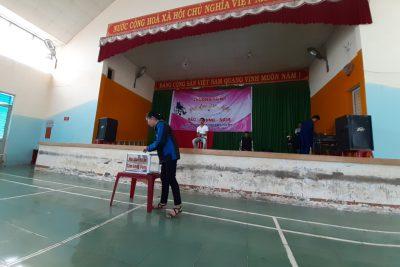Trường THCS TT Đắk Mâm giao lưu với đoàn HS khuyết tật